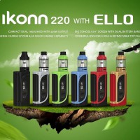 ELeaf iKonn 220 with Ello tank