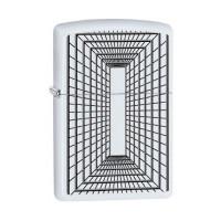 Zippo - White Boxed Lines