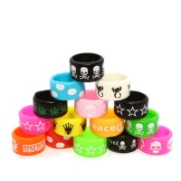 Vape Band - 19mm Assorted Silicone