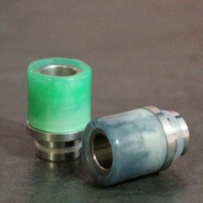 510 Stainless Steel & Resin Drip Tip