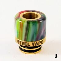 Steelvape Resin & Stainless 510 Drip Tip