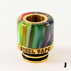 Steelvape Resin & Stainless 510 Drip Tip