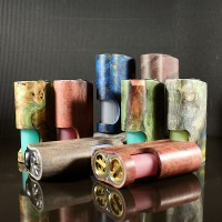 Arctic Dolphin Amber Stabwood Squonker